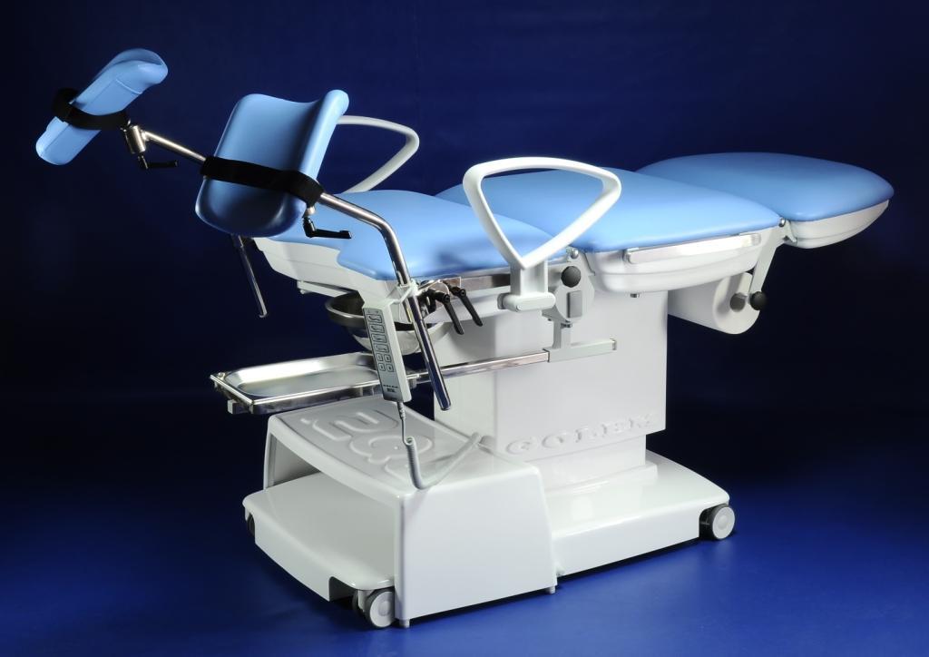 Гінекологічне крісло GOLEM 6 серії як база для спеціалізованих медичних крісел і столів